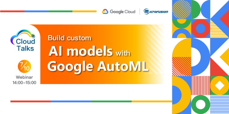 Build custom AI Models with Google AutoML