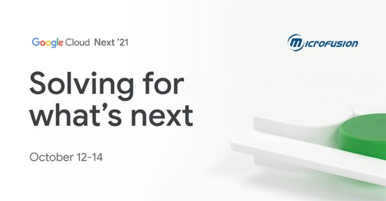 Google Cloud Next'21